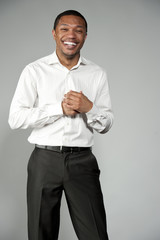 Attractive Happy Professional Young Black Male