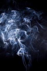 White smoke.