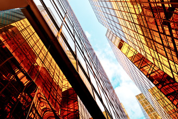 Low angle view of Office Buildings