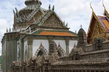 Тайланд. Бангкок. Королевский дворец. Ват Пхракэу