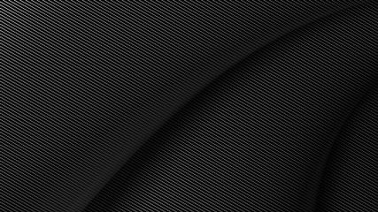 soft carbon fiber background 3d illustration
