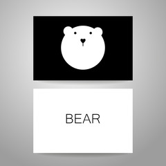 bear animal template