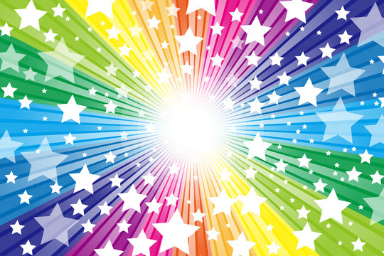 Background wallpaper,rainbow color,twinkle star,glitter,stardust,starburst,free size,happy party,colorful,happiness,heaven,show business,entertainment,freedom,promotional poster,vector,kids,pretty