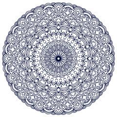 Mehendi ornament vector