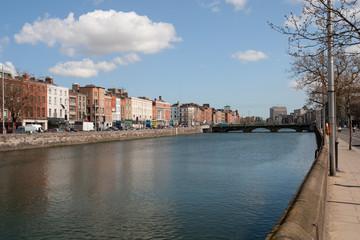River Liffey in City of Dublin
