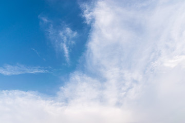 Fototapete - blue sky and clouds in sunny day