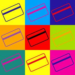Credit card symbol for download