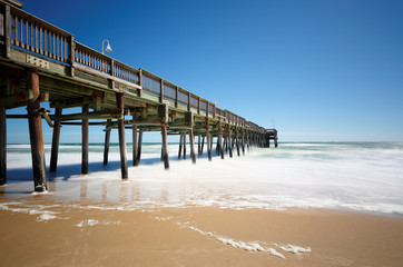 Sandbridge Beach Fishing Pier, Virginia Beach, Virginia, USA