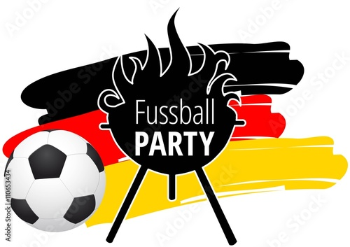 Fussball Party Stock Image And Royalty Free Vector Files On