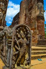 Travel in Sri Lanka. Temples