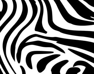Background Leather zebra
