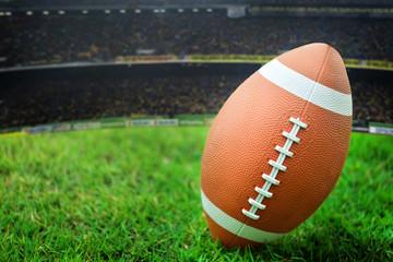 Football Ready for kickoff (close view),Select focus.
