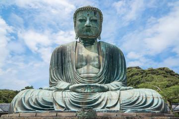 The Great Buddha Daibutsu in kamakura Tokyo JAPAN