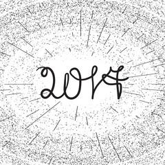 Banner 2017 lettering