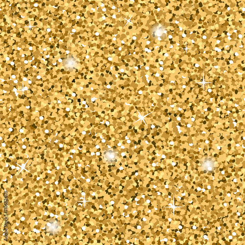 gold glitter texture seamless sequins pattern lights and sparkles