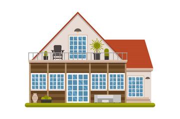 Modern Scandinavian Design Cottage House