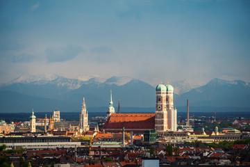 München Alpenblick Panorama