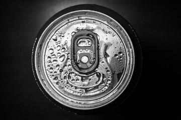 Aluminum red soda can