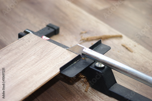laminat verlegen stockfotos und lizenzfreie bilder auf. Black Bedroom Furniture Sets. Home Design Ideas
