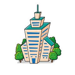 Skyscraper icon.