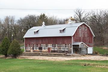 Cloudy Day Barn