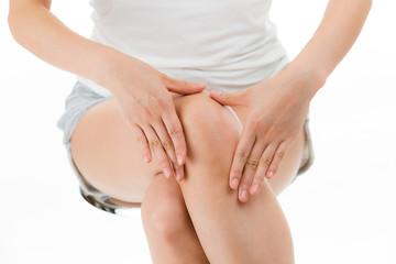 膝のスキンケア