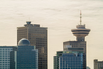 Wall Mural - Downtown Vancouver Skyline / Several towers from downtown Vancouver, Canada.