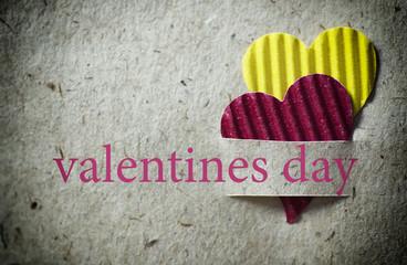heart shape valentine day paper background