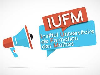 mégaphone : IUFM