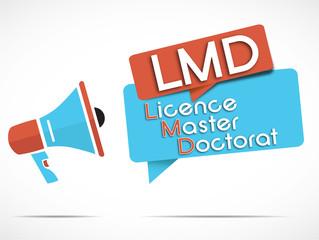 mégaphone LMD (licence master doctorat)