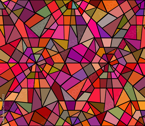 quotseamless texture with a broken stained glass vector