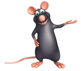 funny Rat cartoon character