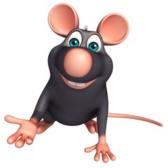 hold  Rat cartoon character