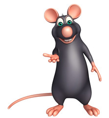 fun  Rat cartoon character