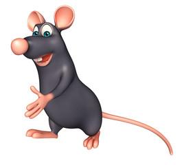 walking   Rat cartoon character