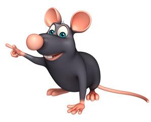 fun  Rat cartoon character