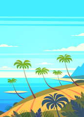Summer Holidays background. Vector Illustration