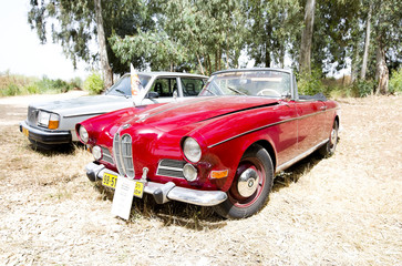 ISRAEL, PETAH TIQWA - MAY 14, 2016:  Grand tourer car BMW 503