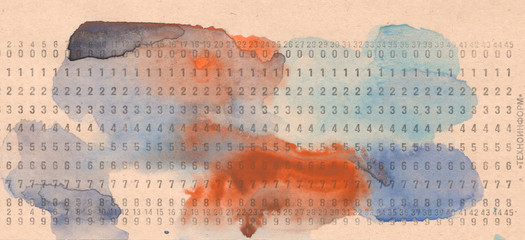 IT Code Watercolor background and texture