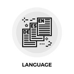 Language Line Icon