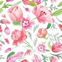 Romantic Watercolor Summer pattern