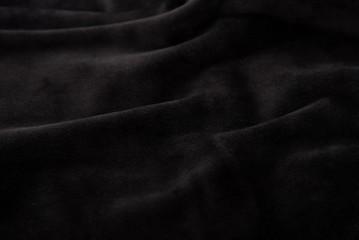 Black velvet texture