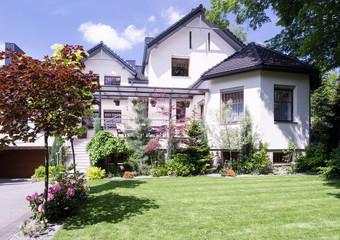 Exterior of luxury villa