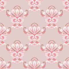damask luxury royal classic vector pattern