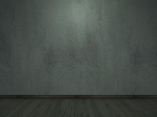 old cement wall crack darklight-interior halloween