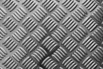 the emboss metal plate texture with black and white effect