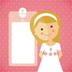 Reminder - Invitation Communion girl
