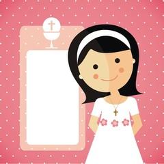 Reminder - Invitation Communion girl