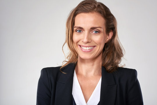 Caucasian business woman portrait
