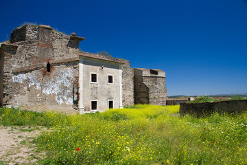castle Juromenha in Portugal
